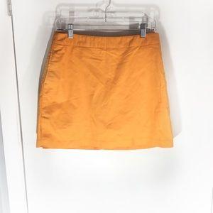 Adidas Stretch Tangerine Cotton Athletic Skort